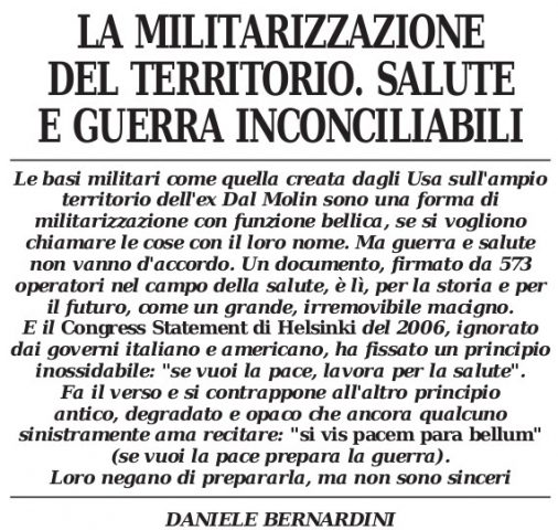 militarizzazione_territorio - quadernivicentini.it - QV