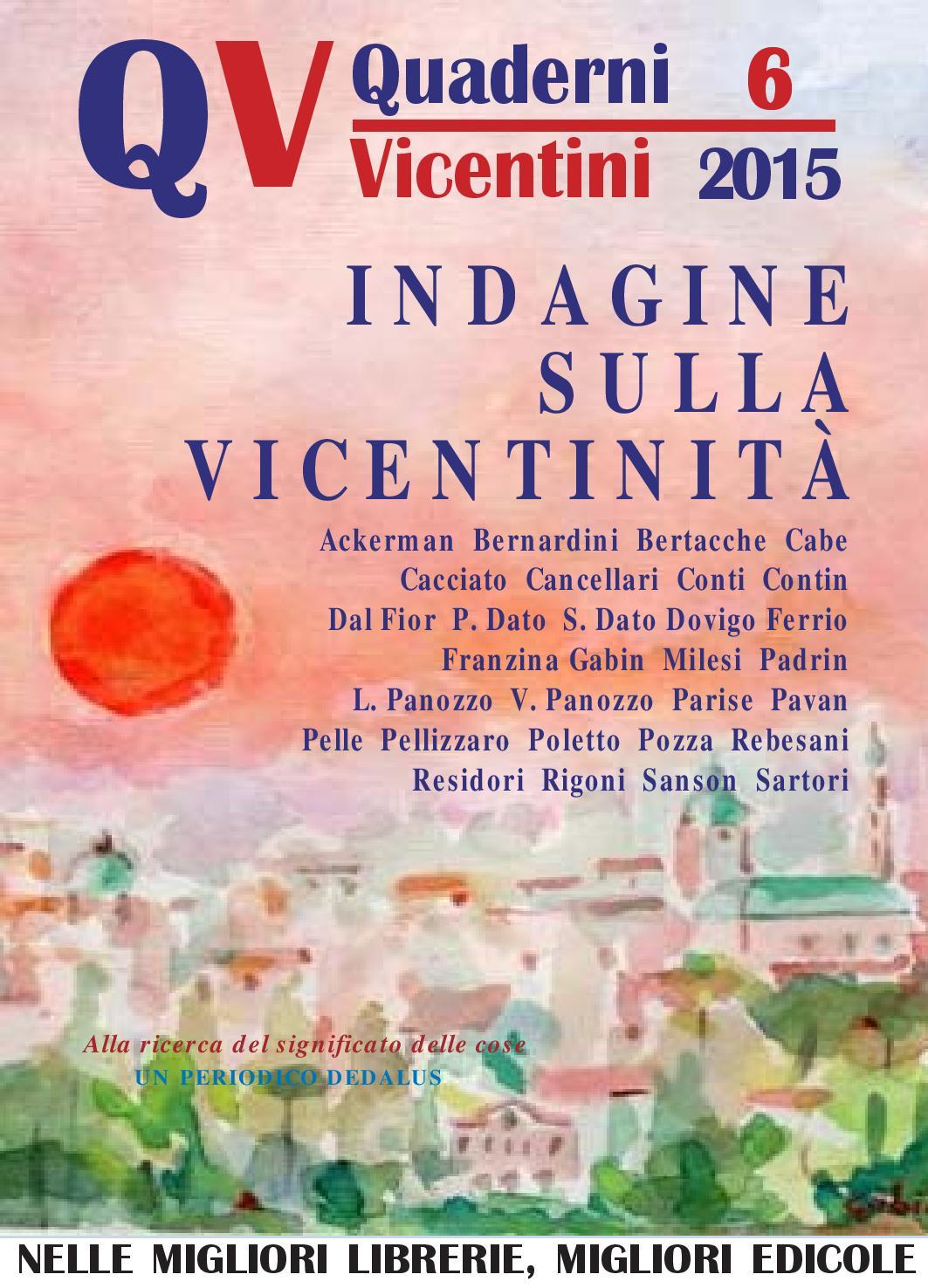 6-2015 - quadernivicentini.it - QV